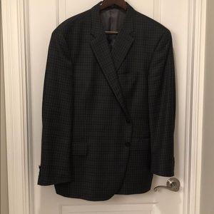 Gray Houndstooth men's sport coat